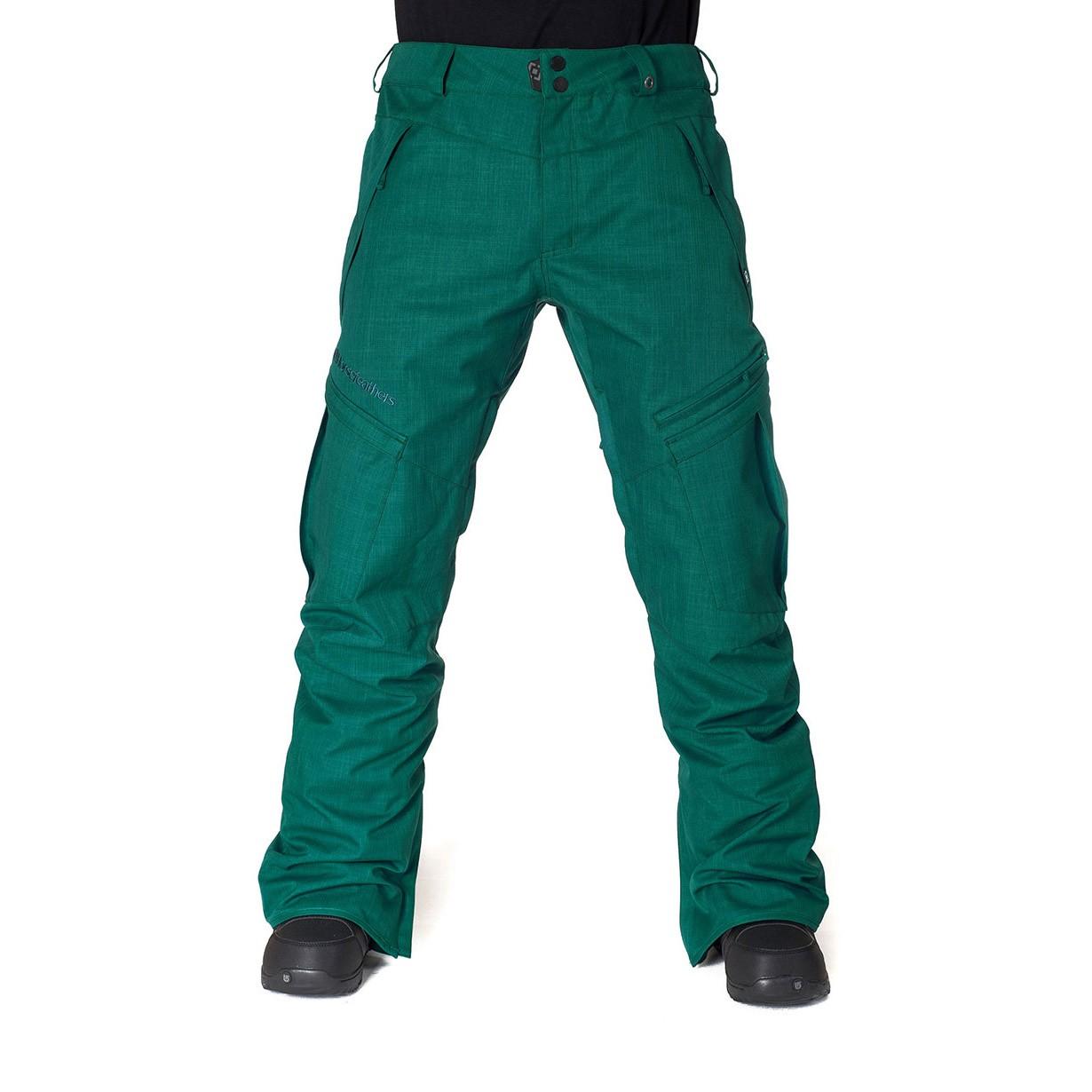 Kalhoty Horsefeathers Motive deep green vel.XL 15/16 + doručení do 24 hodin