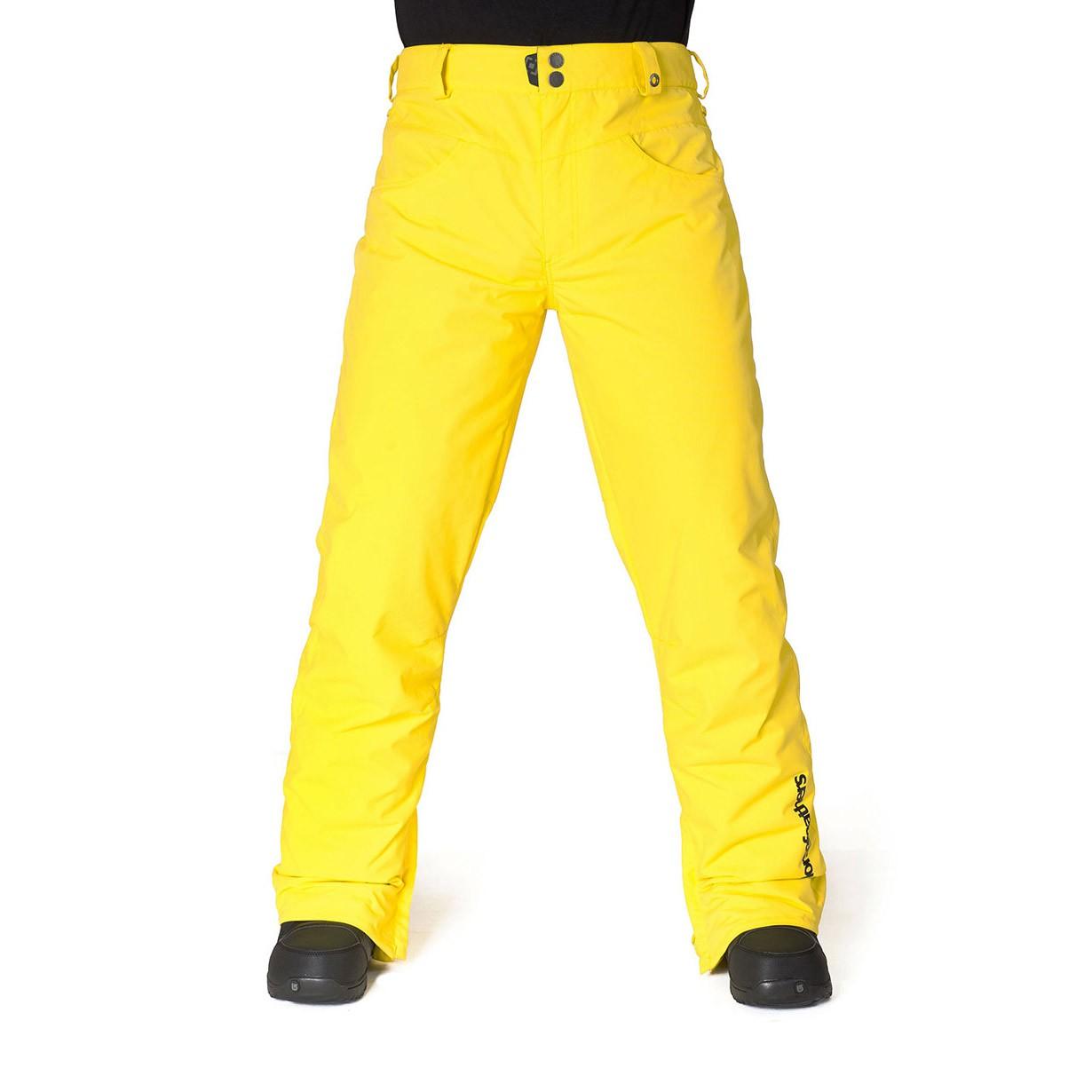 Kalhoty Horsefeathers Roulette yellow