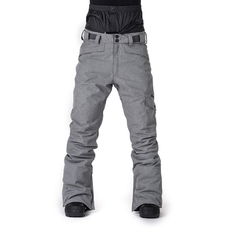 Kalhoty Horsefeathers Tonia grey melange