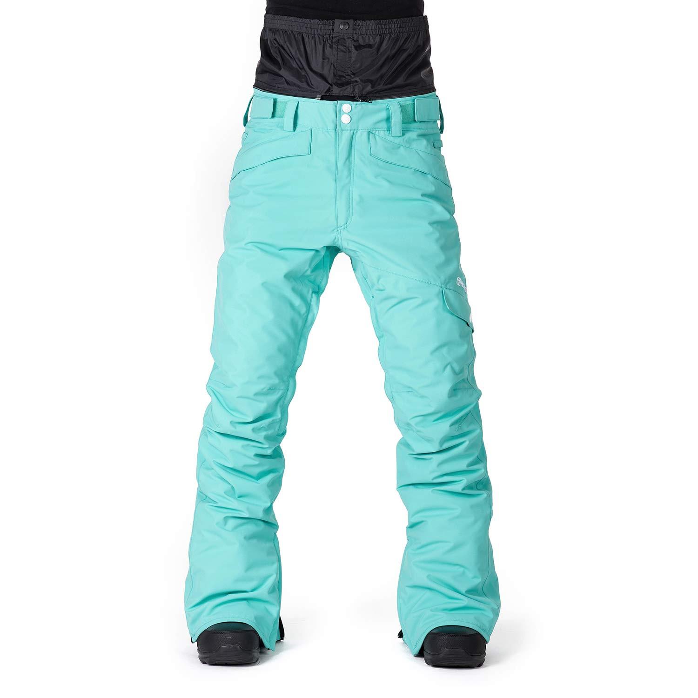 Kalhoty Horsefeathers Tonia pool blue