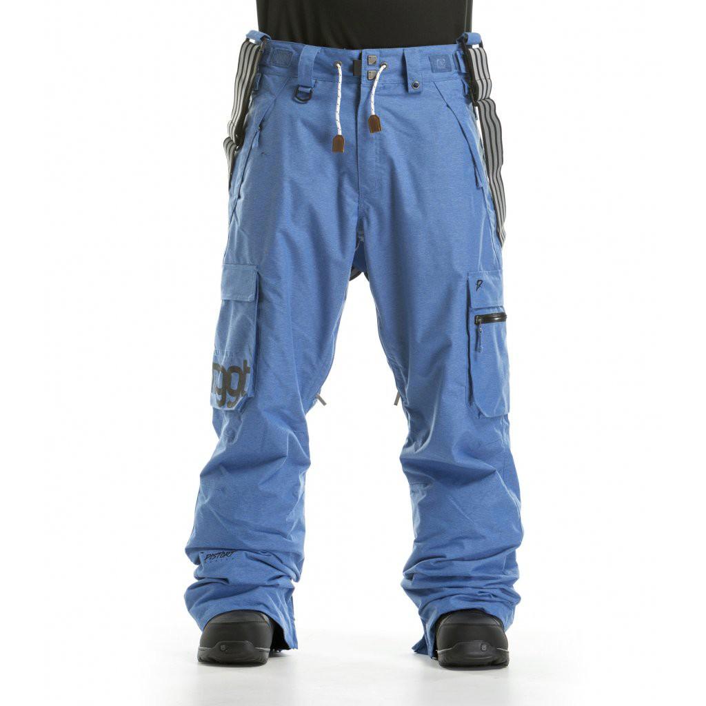 Kalhoty Nugget Dustoff 2 heather blue vel.L 16/17 + doručení do 24 hodin