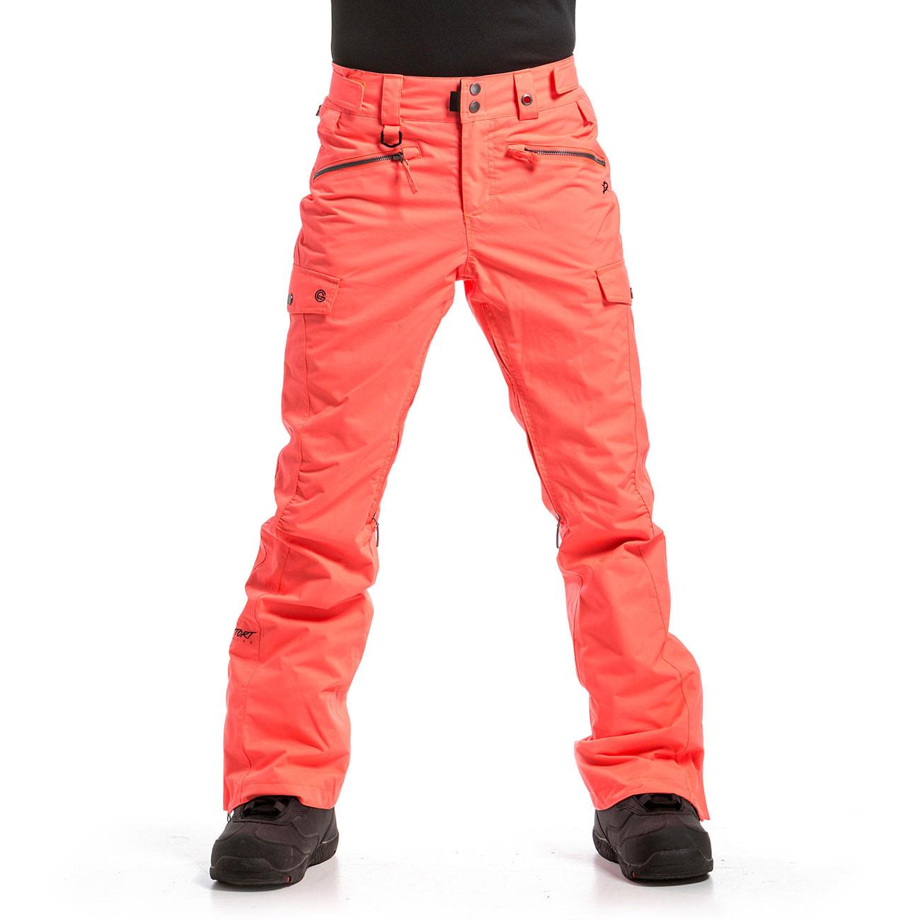 Kalhoty Nugget Frida 3 acid orange