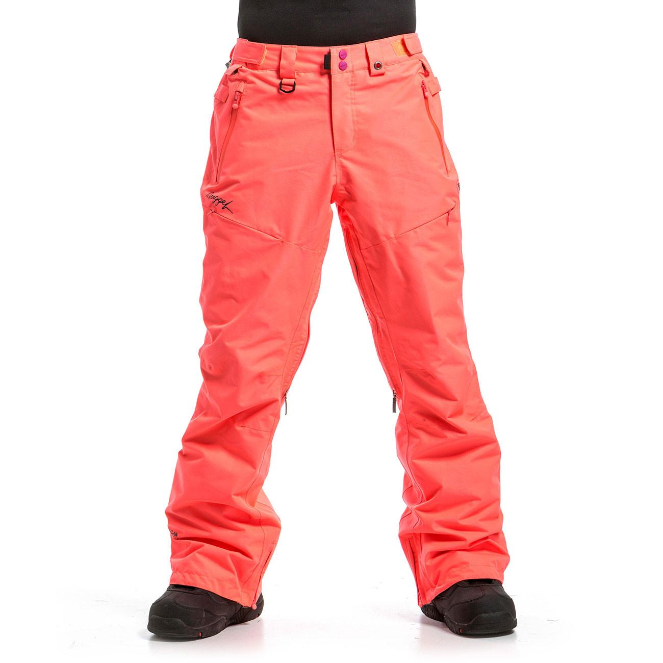 Kalhoty Nugget Vivid 3 acid pink