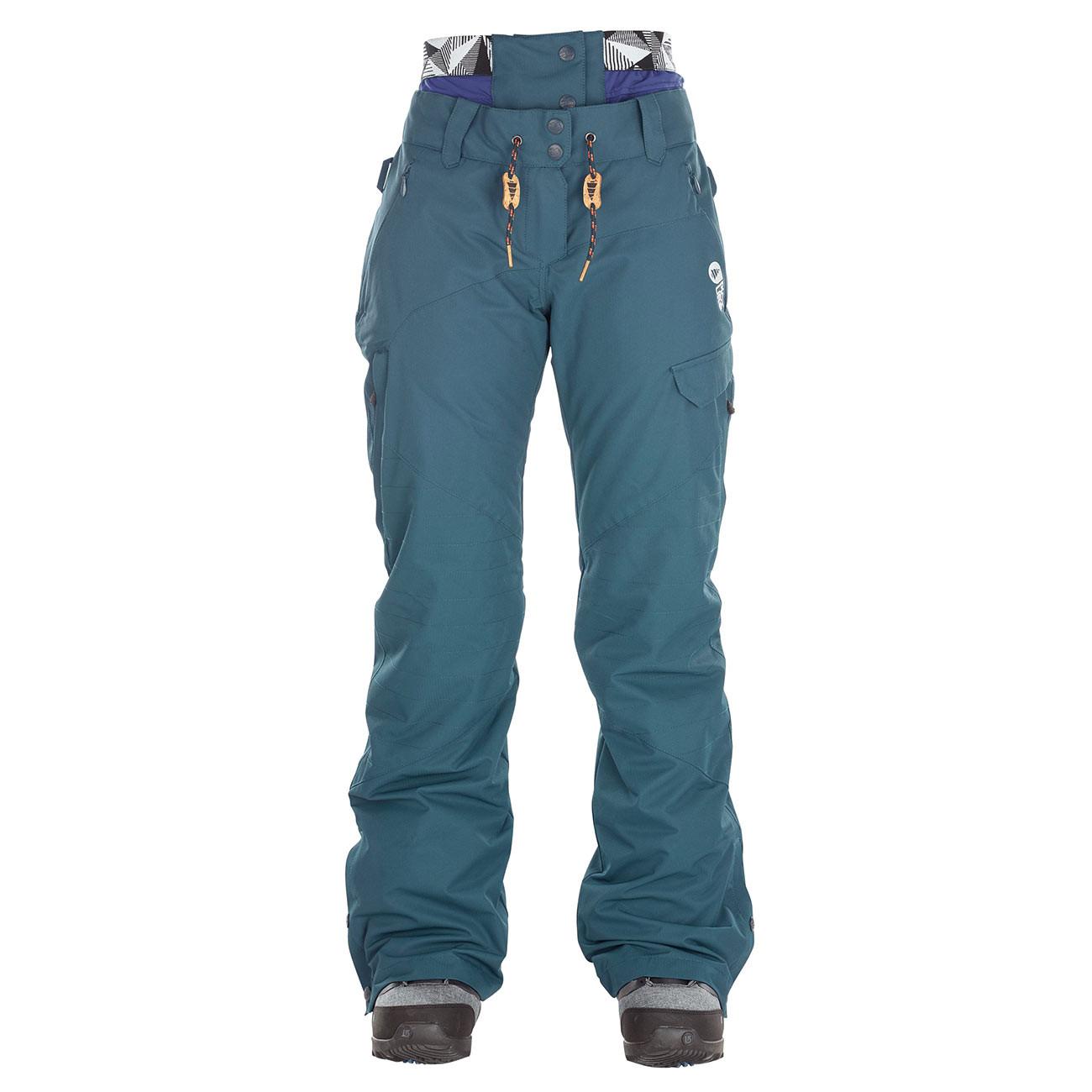 Kalhoty Picture Treva petrol blue