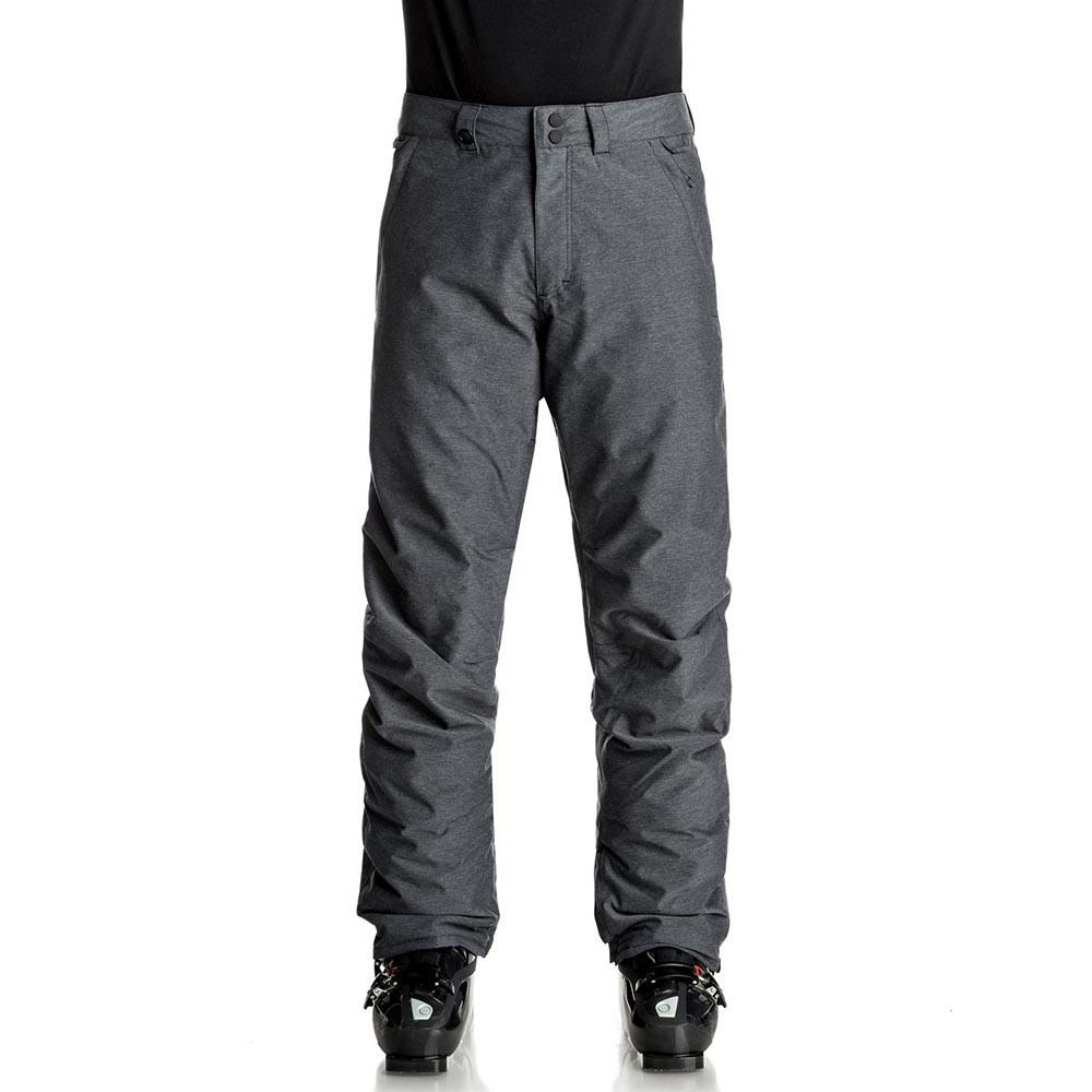 Kalhoty Quiksilver Estate black heather