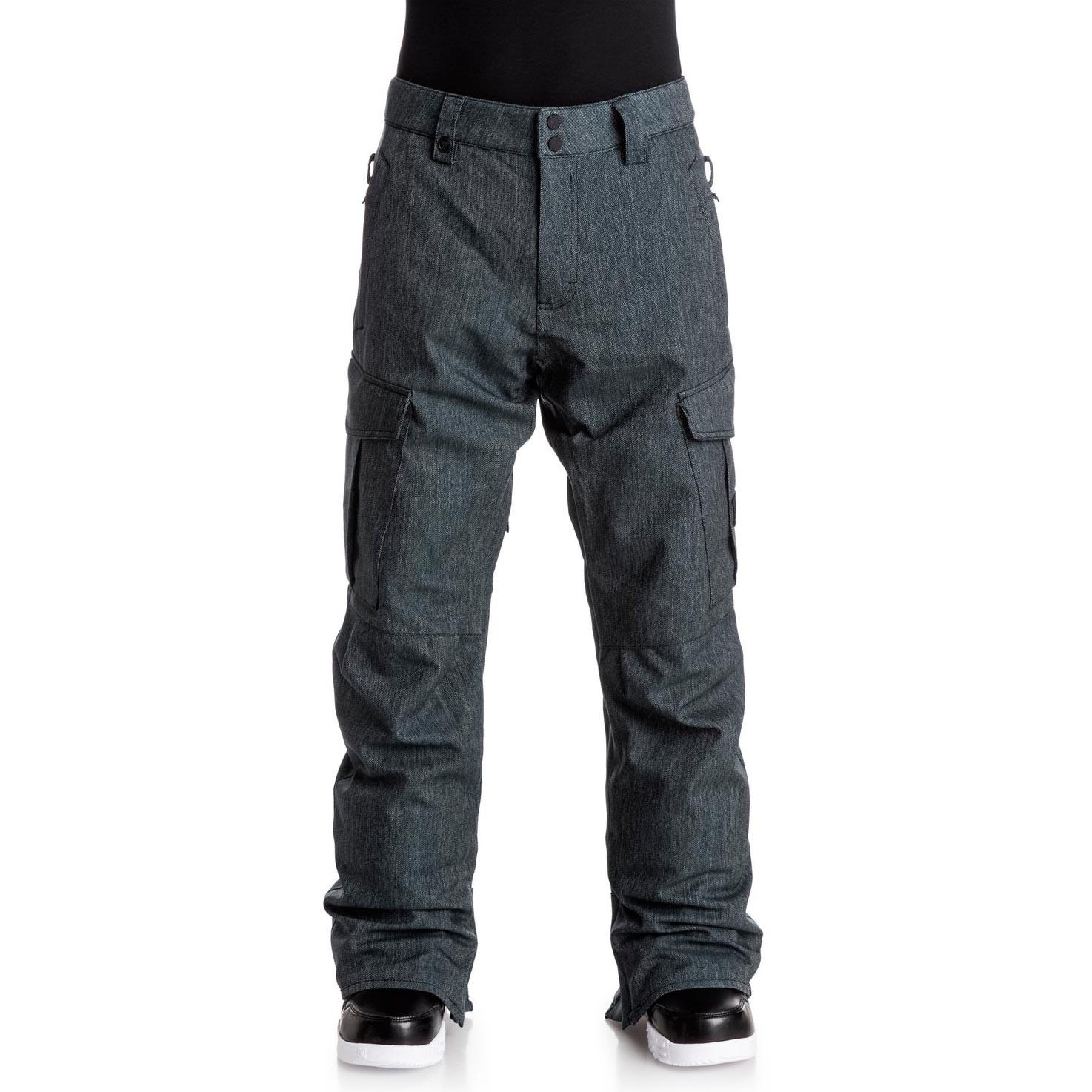 Kalhoty Quiksilver Porter Denim black vel.XL 16/17 + doručení do 24 hodin