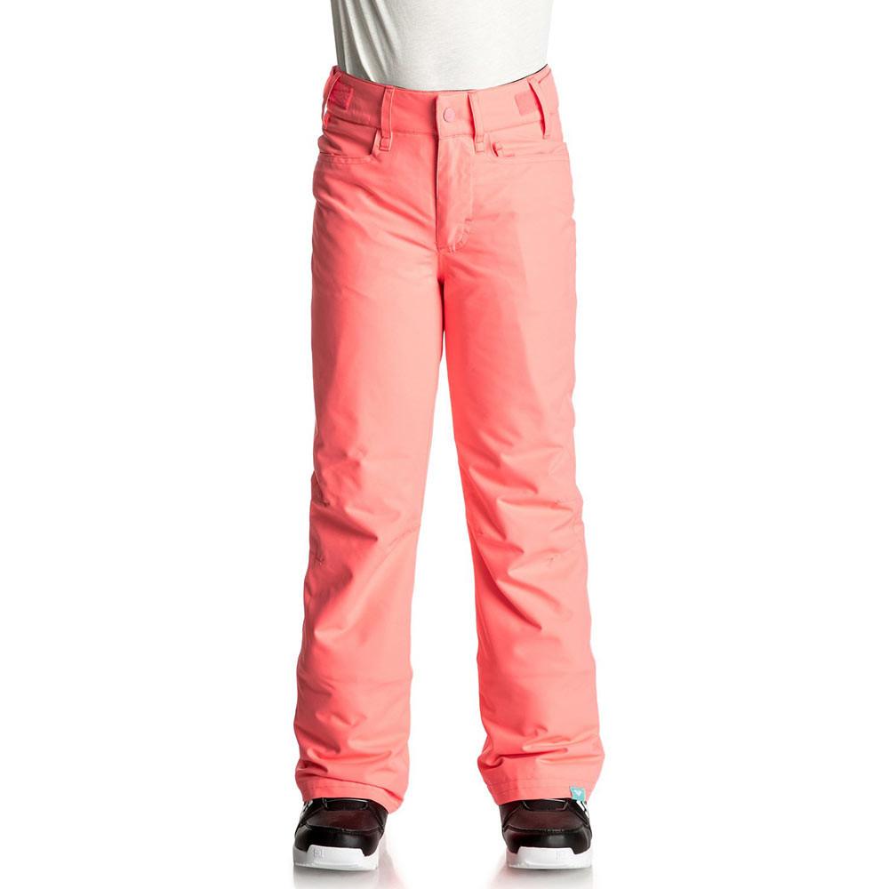 Kalhoty Roxy Backyard Girl neon grapefruit