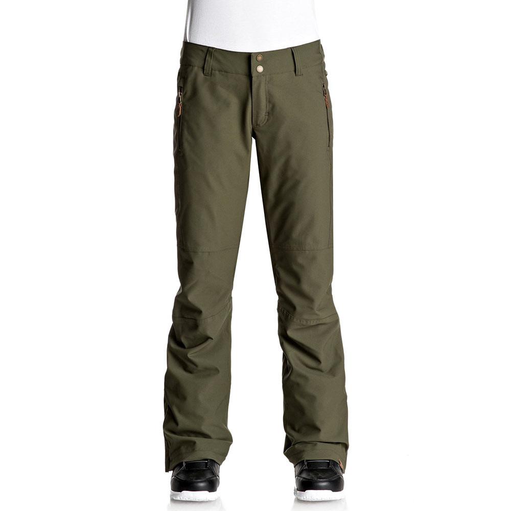 Kalhoty Roxy Cabin dust ivy
