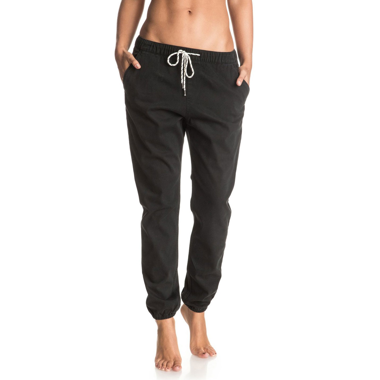 Kalhoty Roxy Easy Beachy anthracite