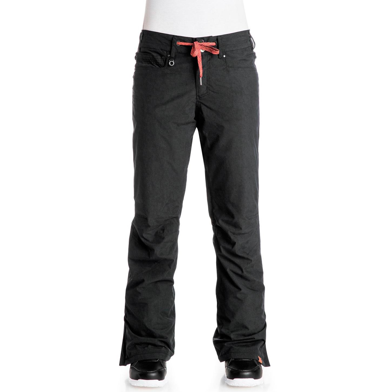 Kalhoty Roxy Woodrun true black