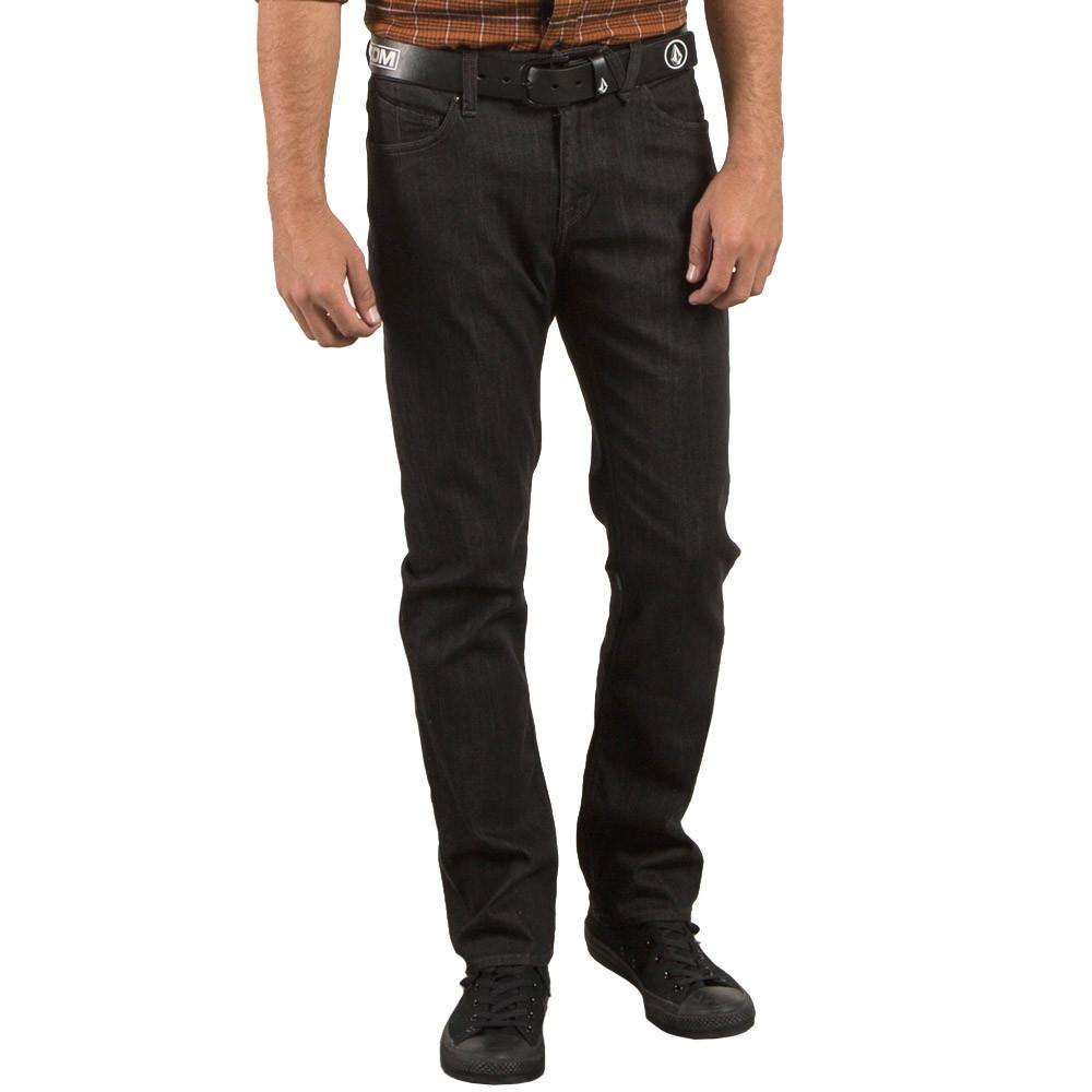 Kalhoty Volcom Solver Denim black rinser