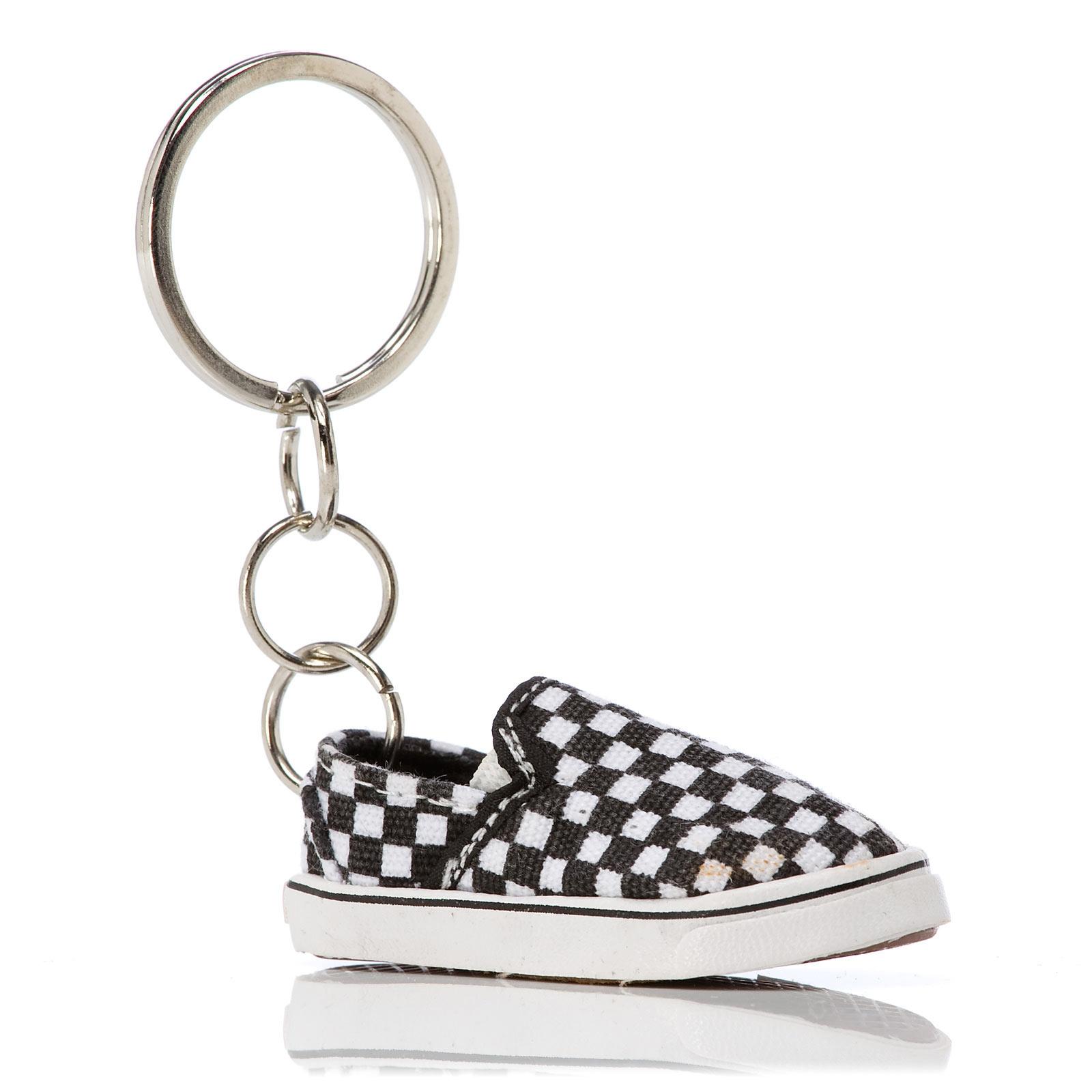 Vans Slip-On Keychain black/white