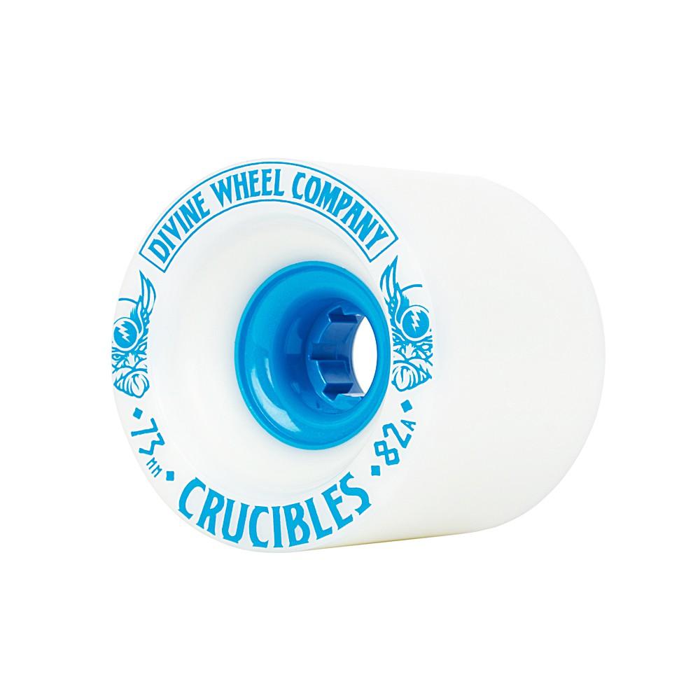 Kolečka Divine Crucibles 73mm/82A white/blue