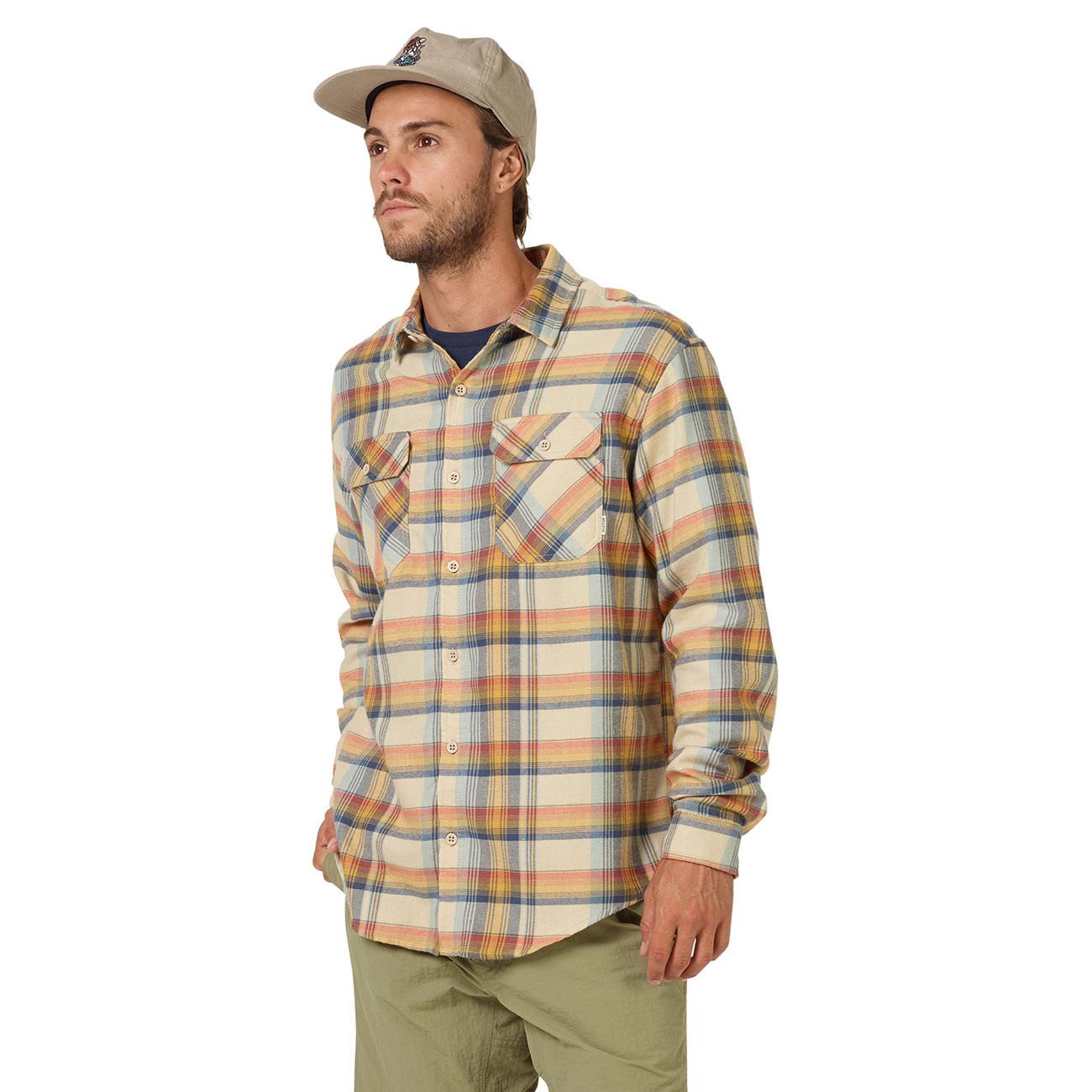 Shirt burton brighton flannel safari stella plaid for Places to buy flannel shirts