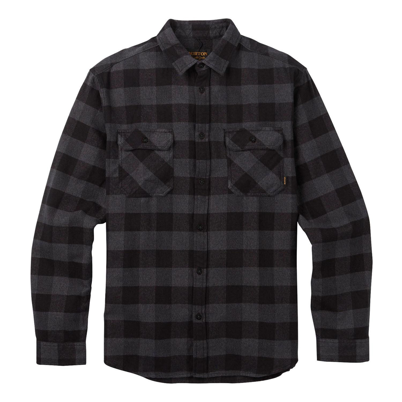 Košile Burton Brighton Flannel true black buffalo