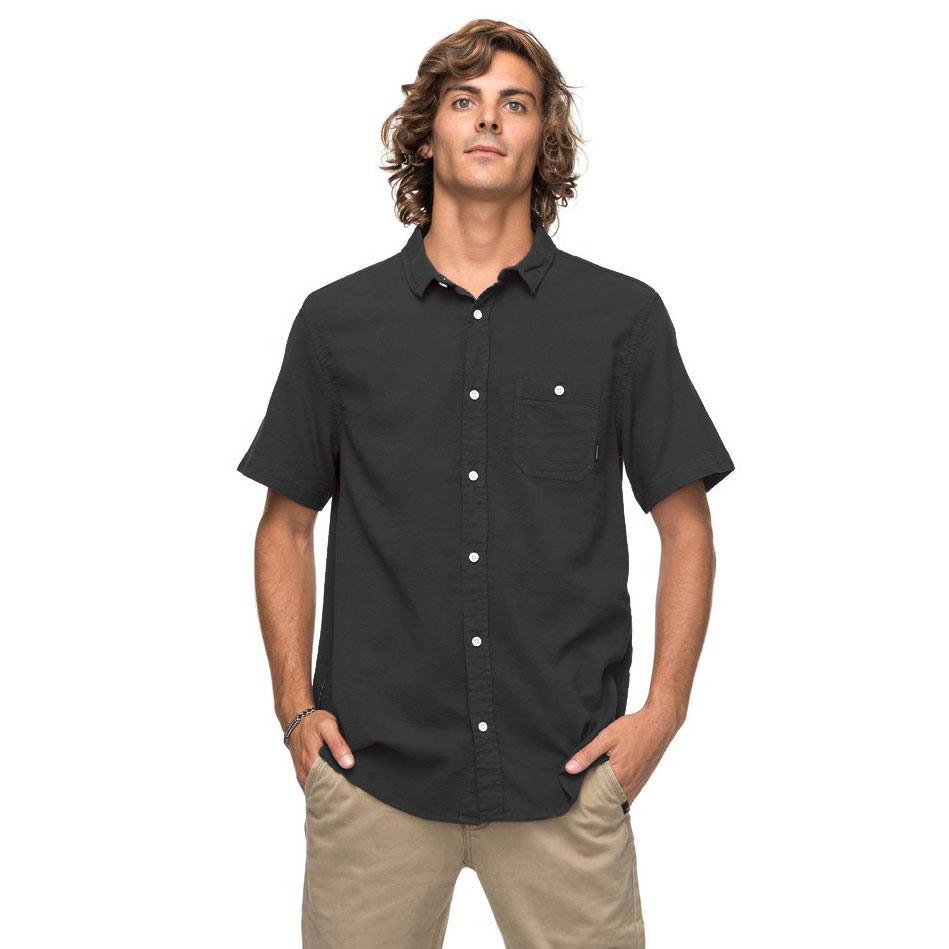 Košile Quiksilver New Time Box Ss tarmac