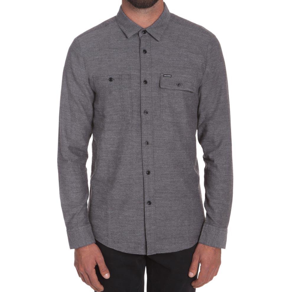 Košile Volcom Hickson L/s asphalt black