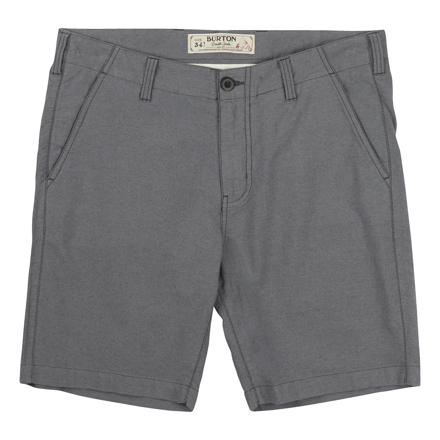 Kraťasy Burton Kingfield Short true black heather