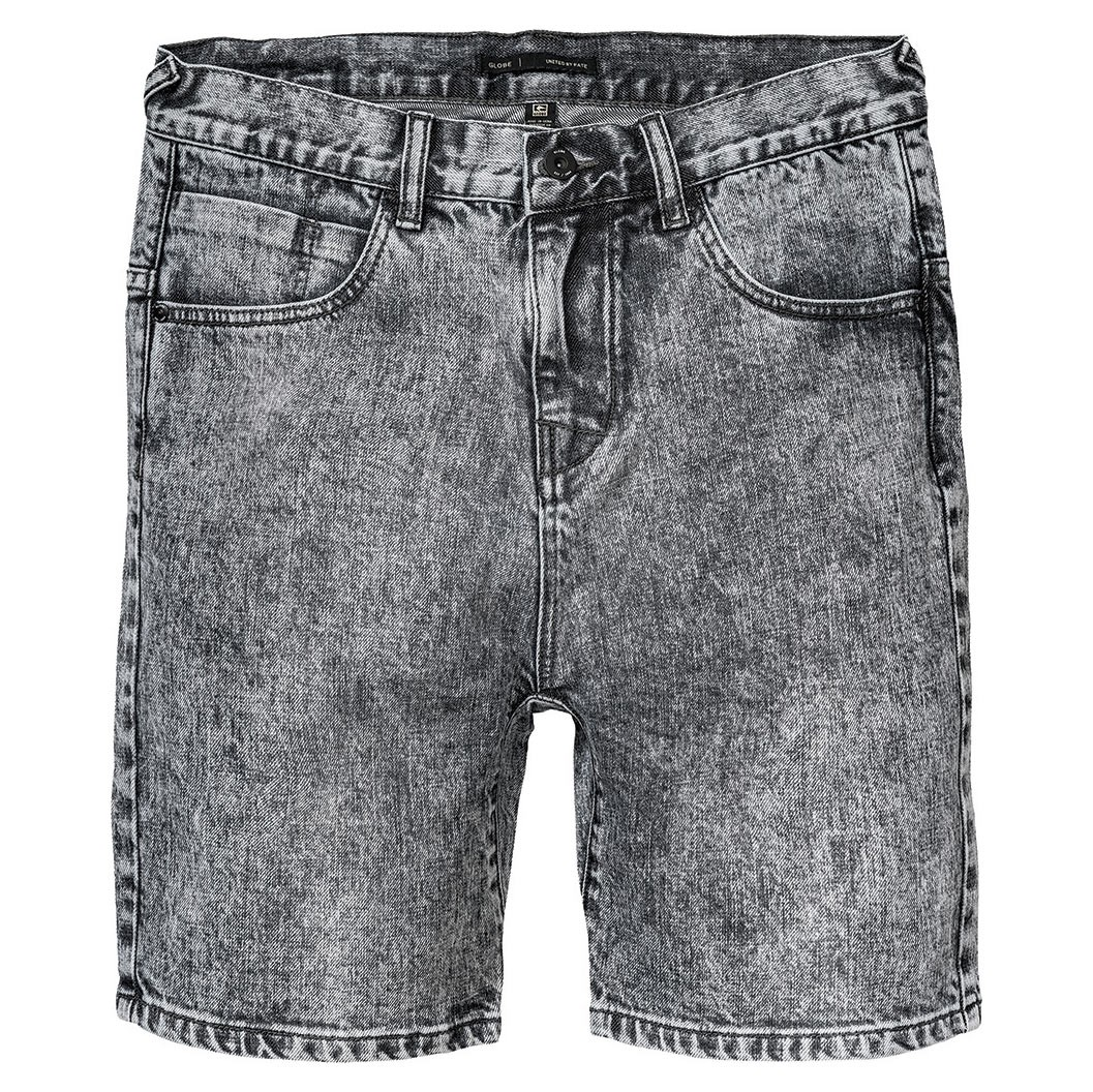 Kraťasy Globe Lo Slung Select Denim acid grey