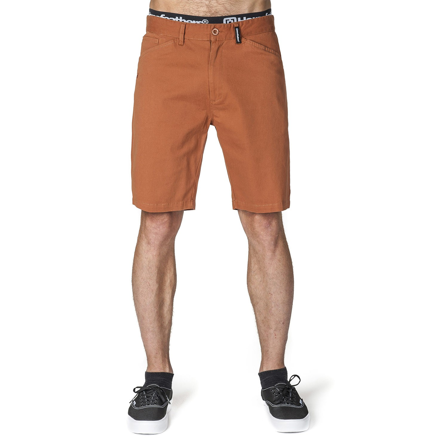 Kraťasy Horsefeathers Johnny Shorts rust