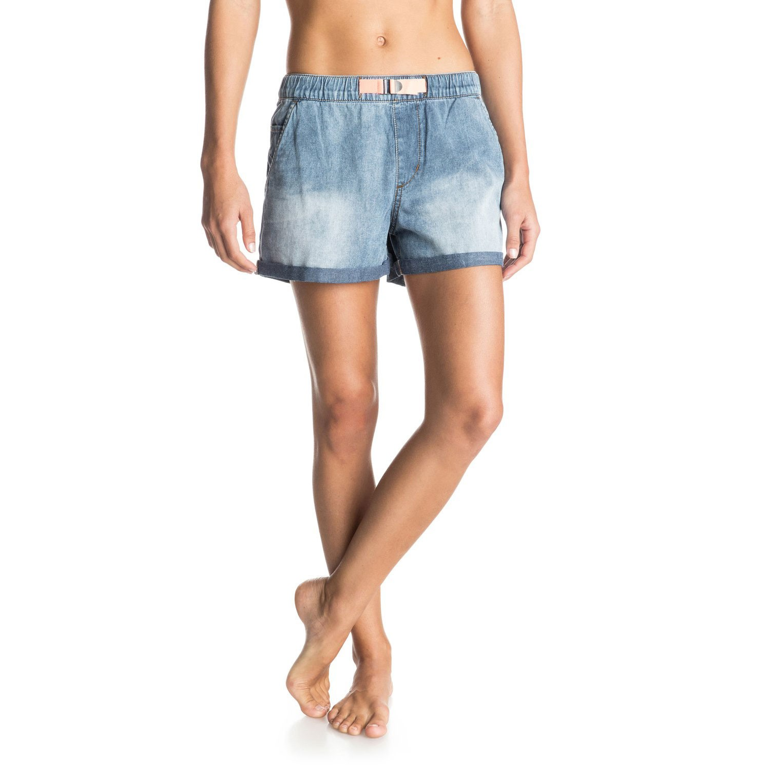 Kraťasy Roxy Fonxy Short Denim med blue wash