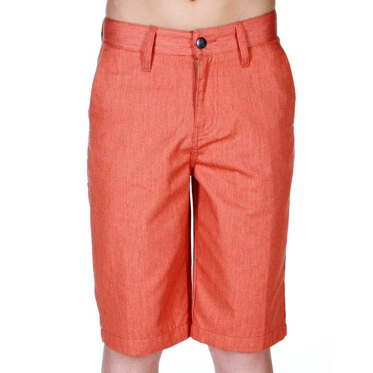Kraťasy Volcom Frickin Too Jr. burnt orange