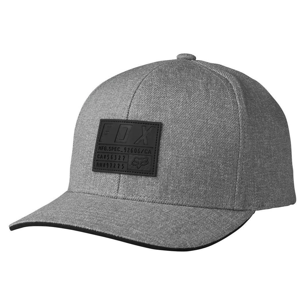 Kšiltovka Fox Abyssmal 110 Snapback heather grey
