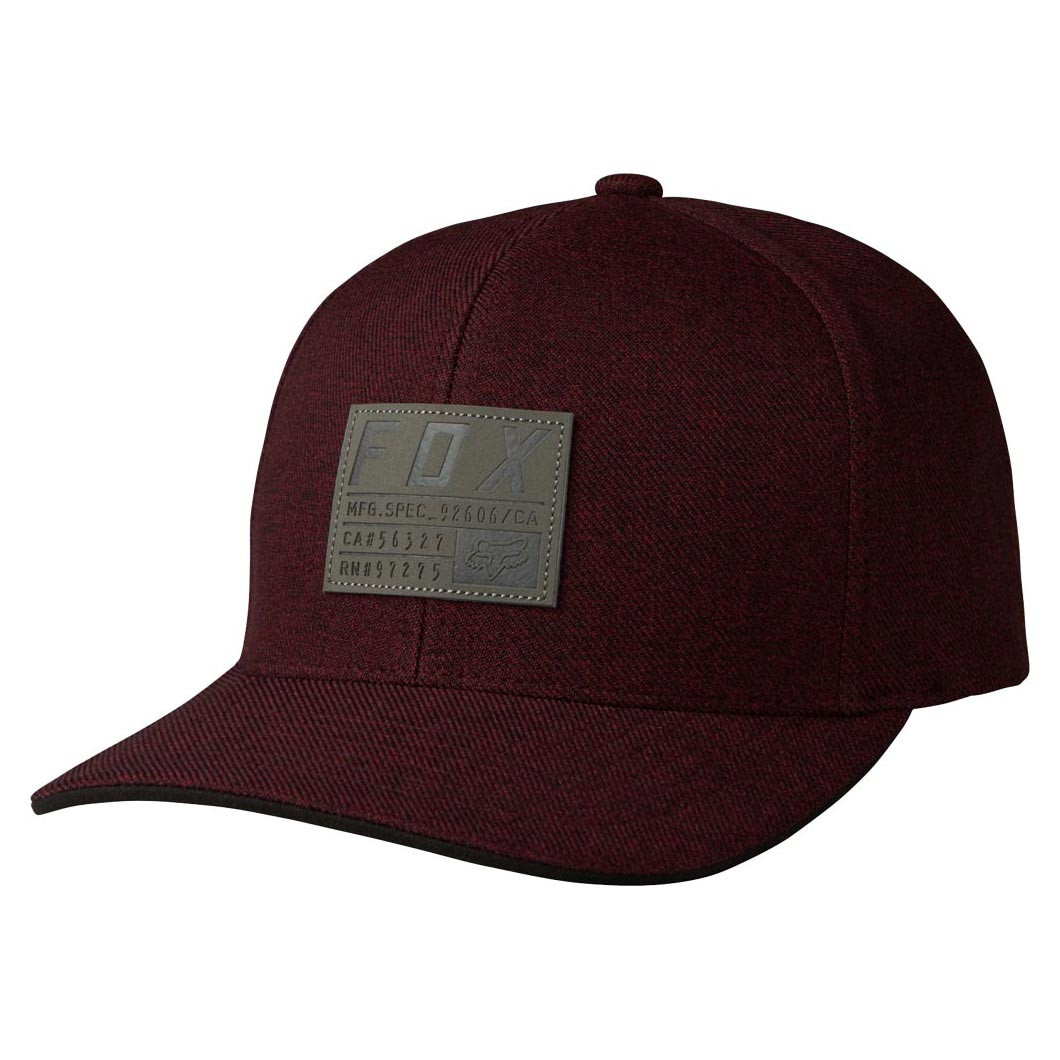 Kšiltovka Fox Abyssmal 110 Snapback heather red