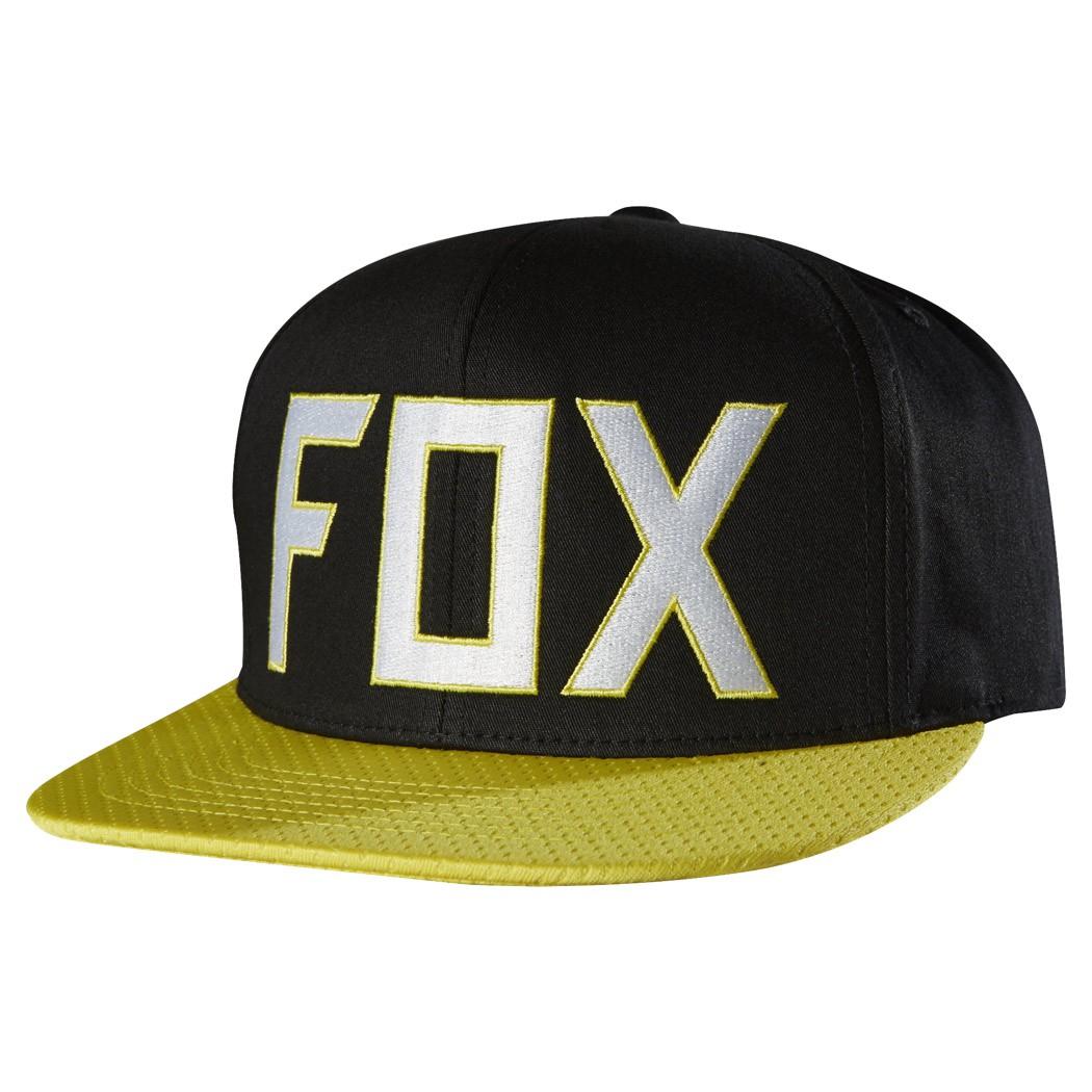 Kšiltovka Fox Assist black