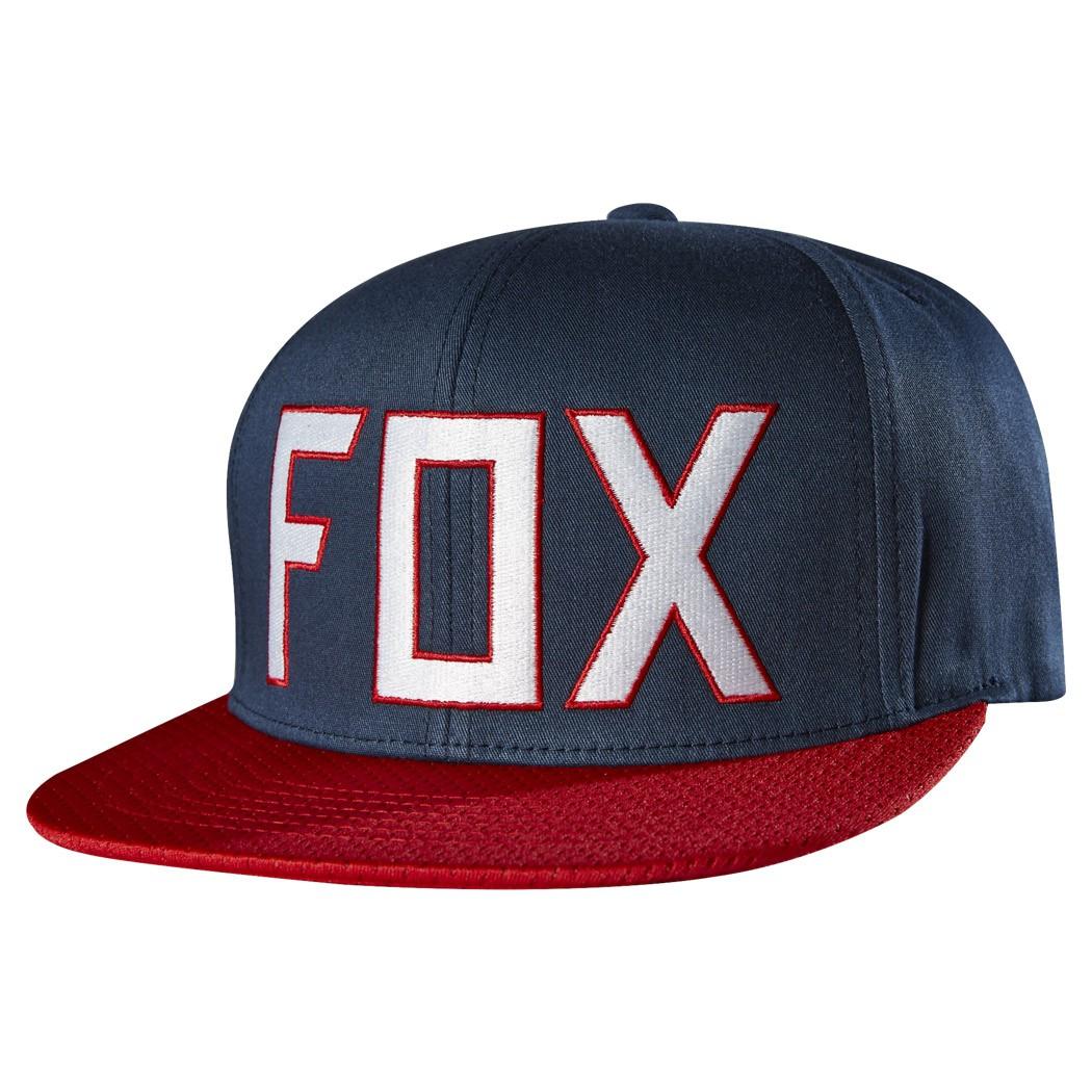 Kšiltovka Fox Assist indigo