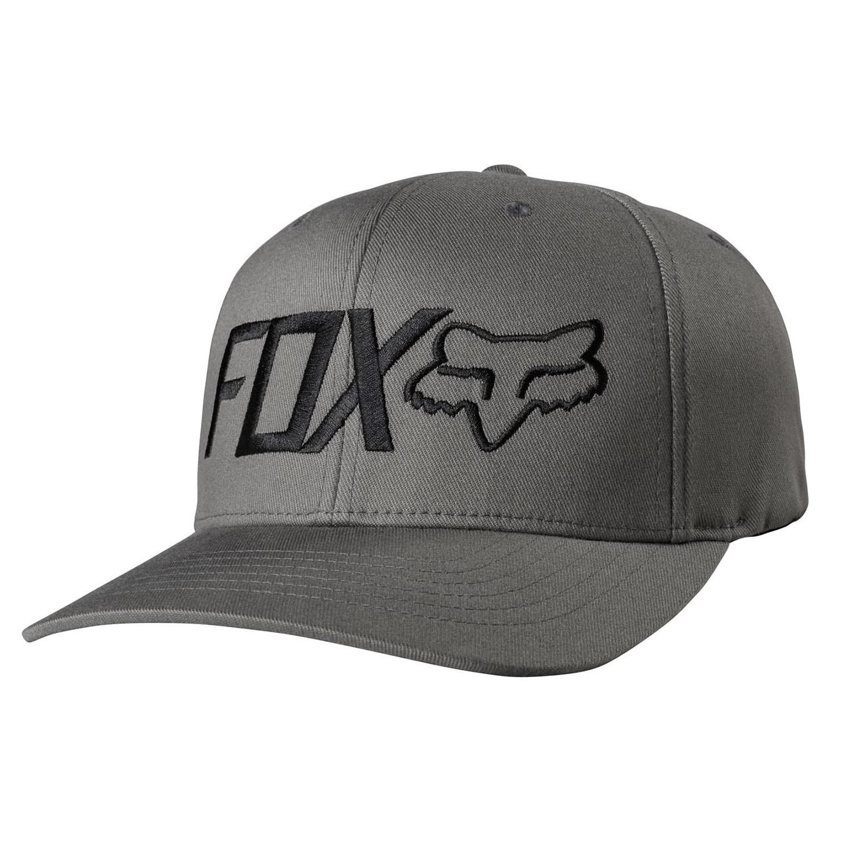 Kšiltovka Fox Draper Flexfit graphite