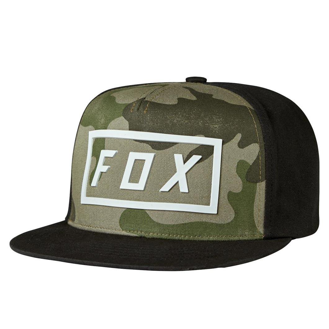 Kšiltovka Fox Fumed Snapback camo