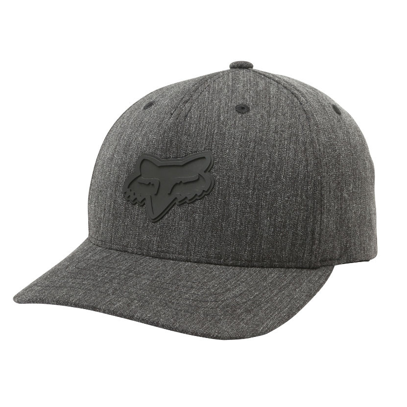 Kšiltovka Fox Heads Up 110 Snapback heather black