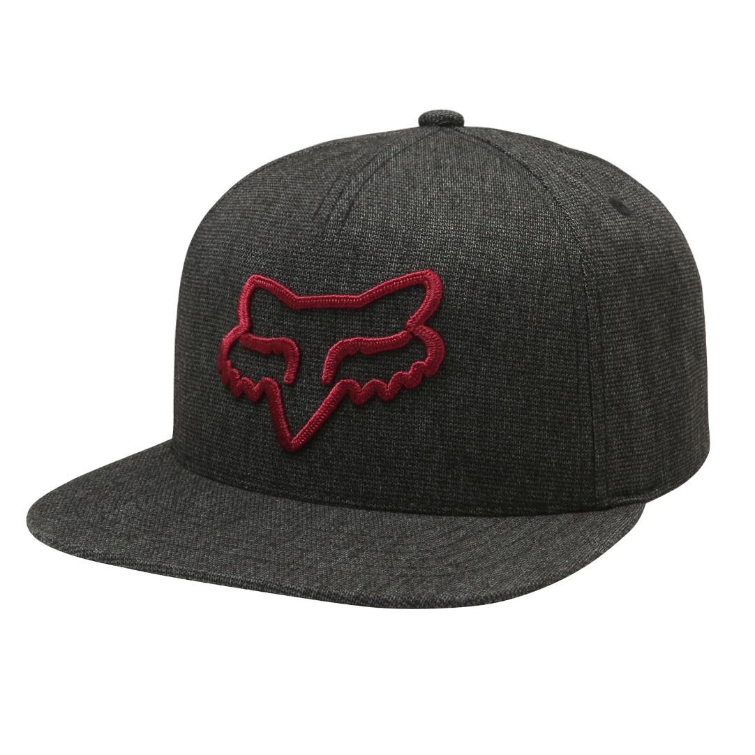 Kšiltovka Fox Instill Snapback heather black