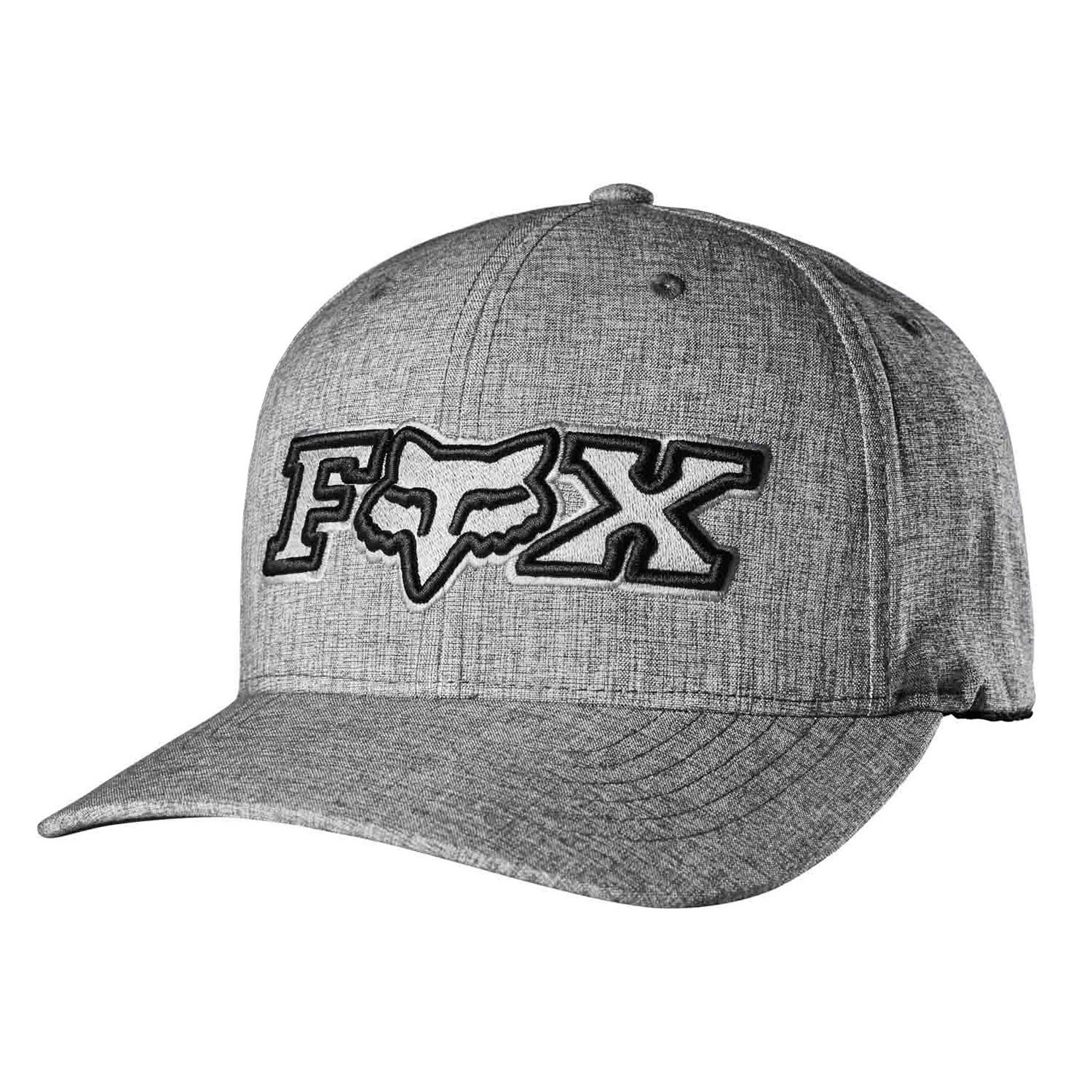 Kšiltovka Fox Kincayde Flexfit heather grey