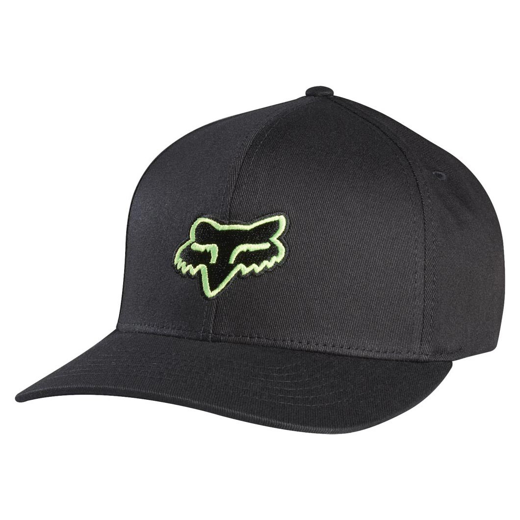 Kšiltovka Fox Legacy Flexfit black/green