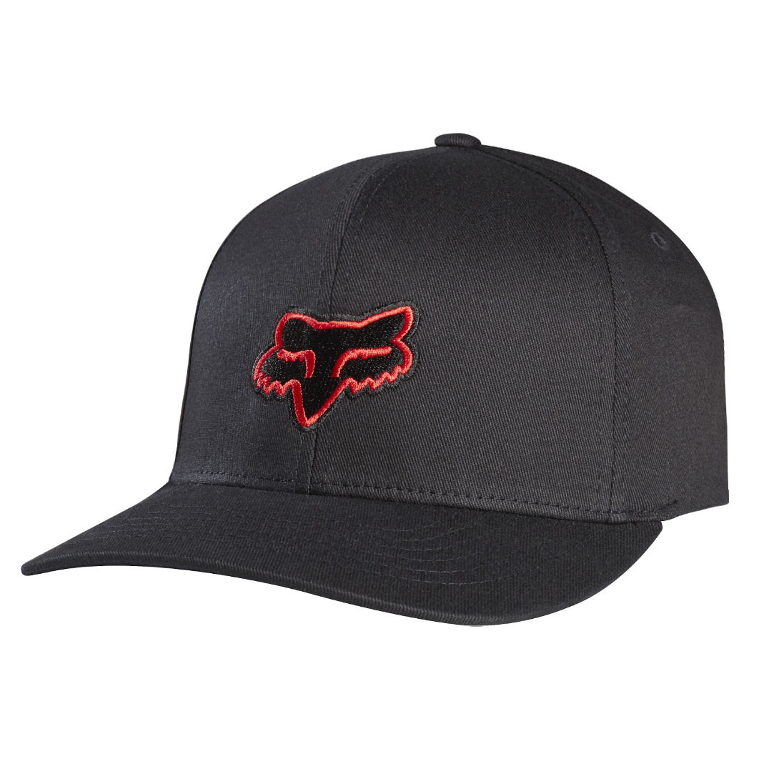 Kšiltovka Fox Legacy Flexfit black/red