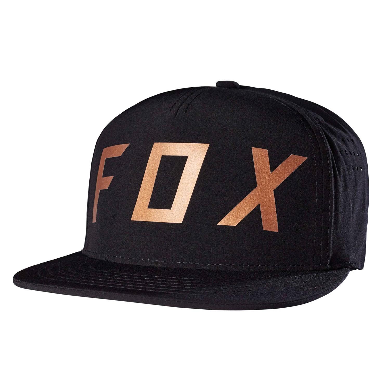 Kšiltovka Fox Moth Snapback black