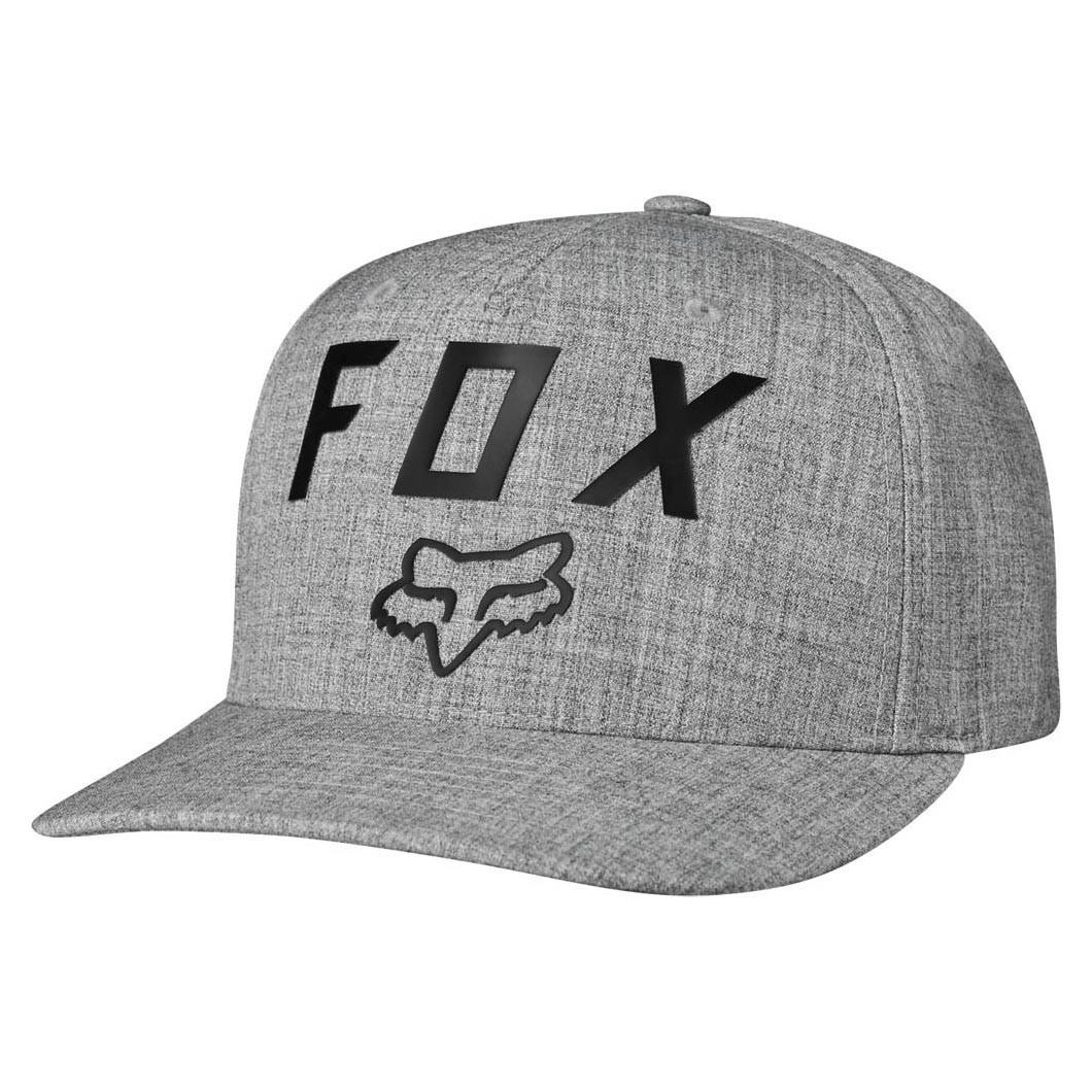 Kšiltovka Fox Number 2 Flexfit heather grey