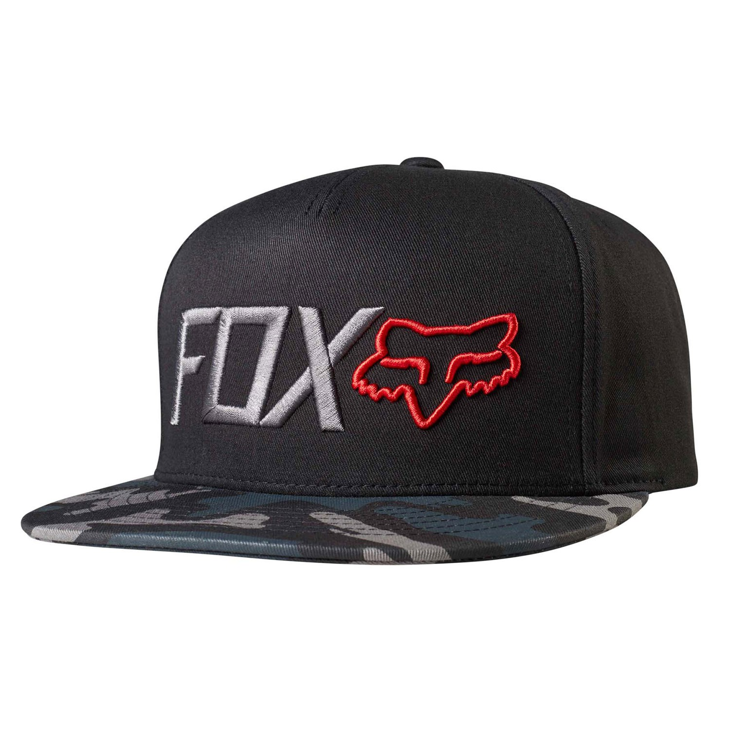 Kšiltovka Fox Obsessed Snapback black camo