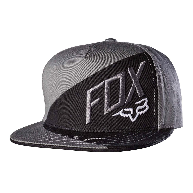 Kšiltovka Fox Overlapped Snapback graphite