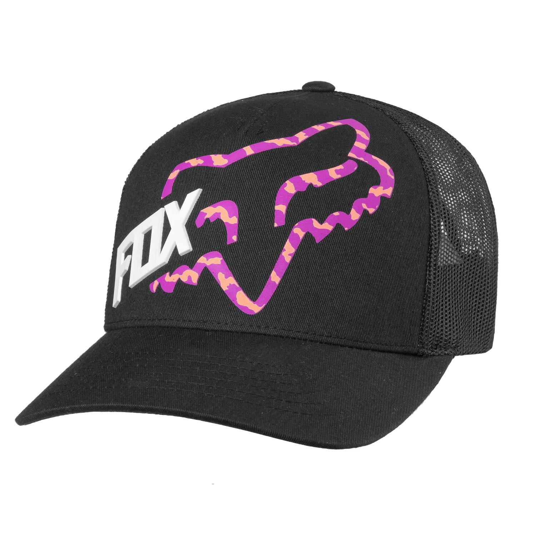 Kšiltovka Fox Reacted Trucker black 17 + doručení do 24 hodin