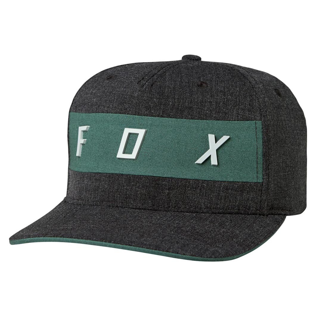 Kšiltovka Fox Set In Flexfit heather black