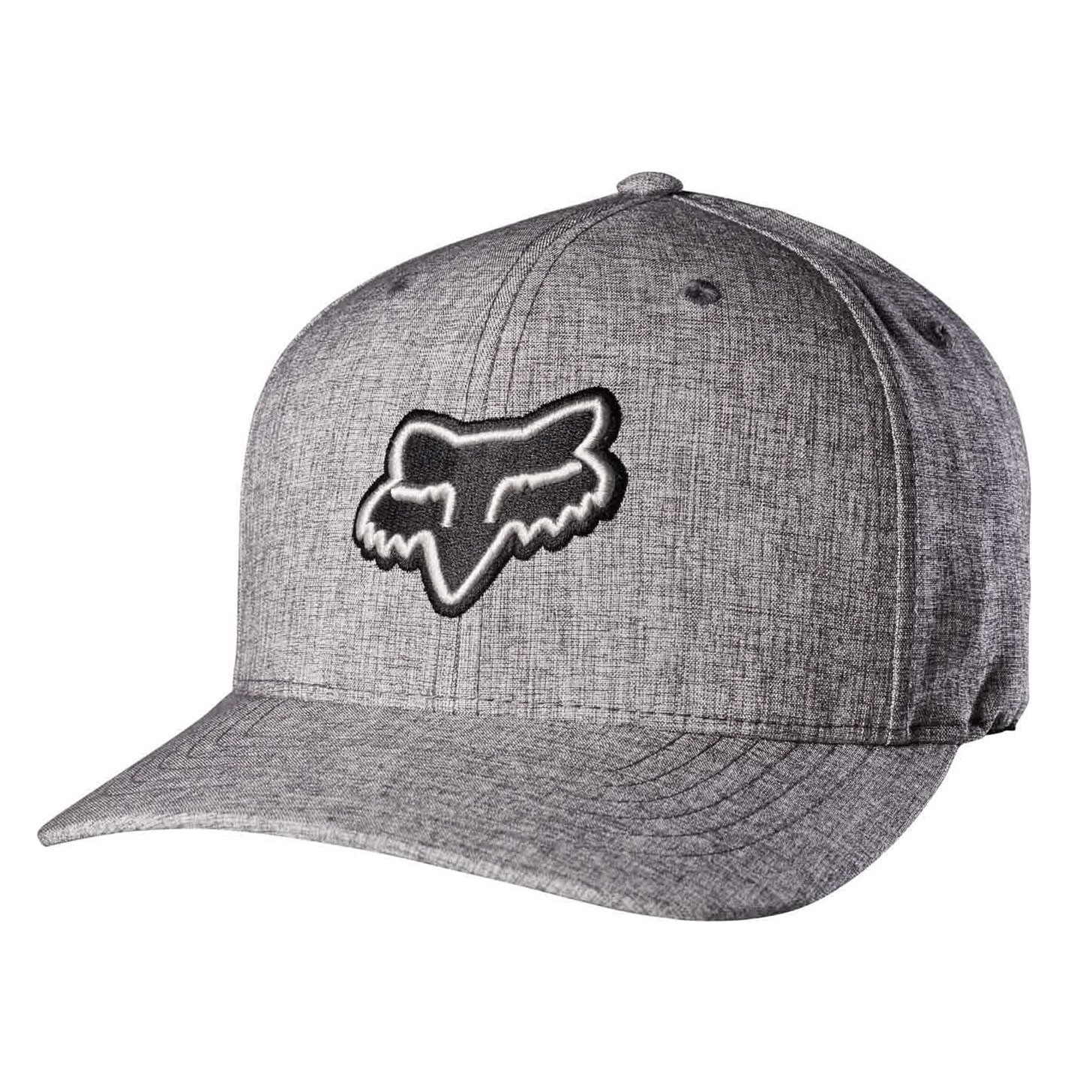 Kšiltovka Fox Transfer Flexfit heather grey