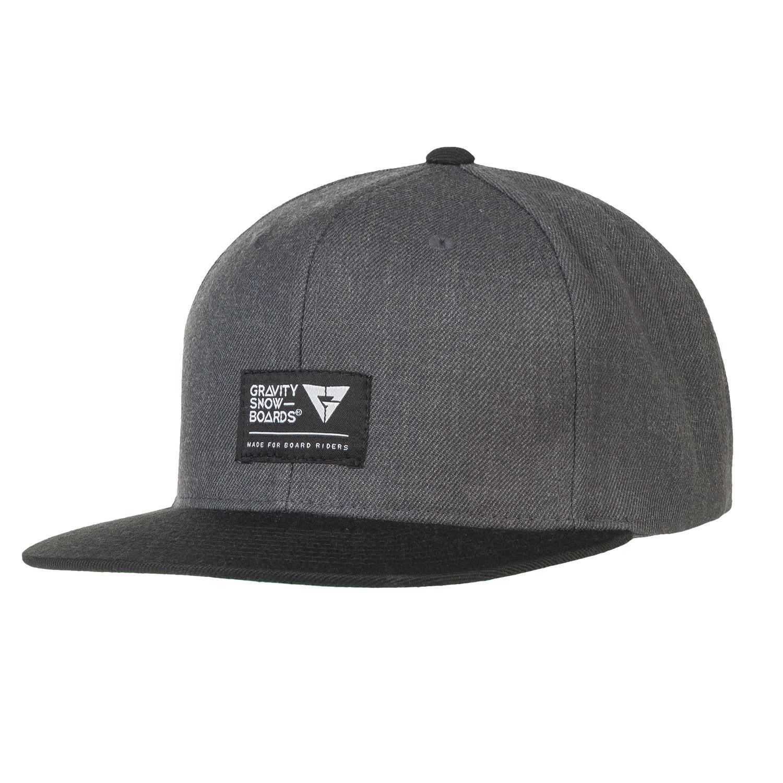 Kšiltovka Gravity Deep grey heather/black