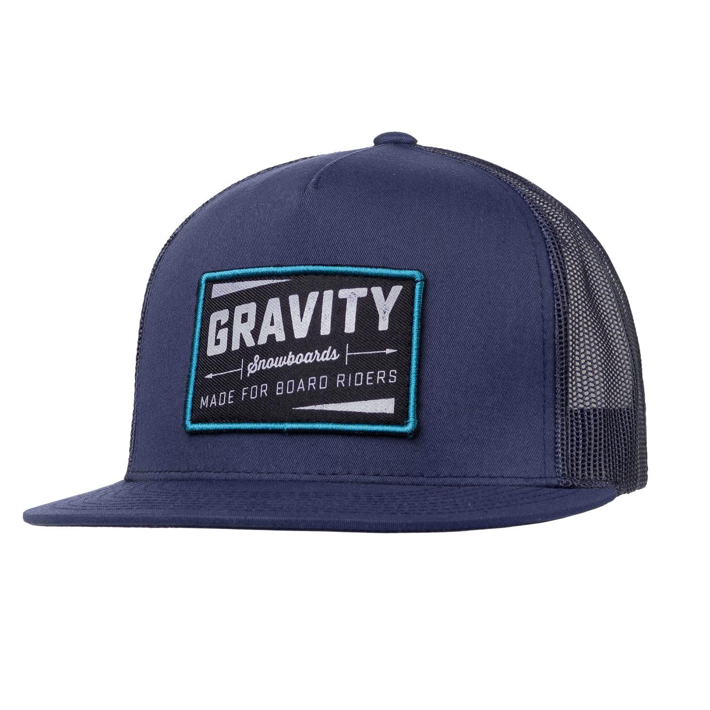Kšiltovka Gravity Jeremy Trucker blue