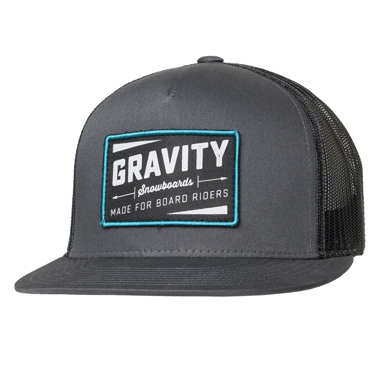 Kšiltovka Gravity Jeremy Trucker grey