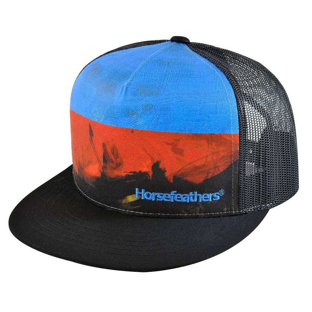 Kšiltovka Horsefeathers Shred black  dbb85b3043
