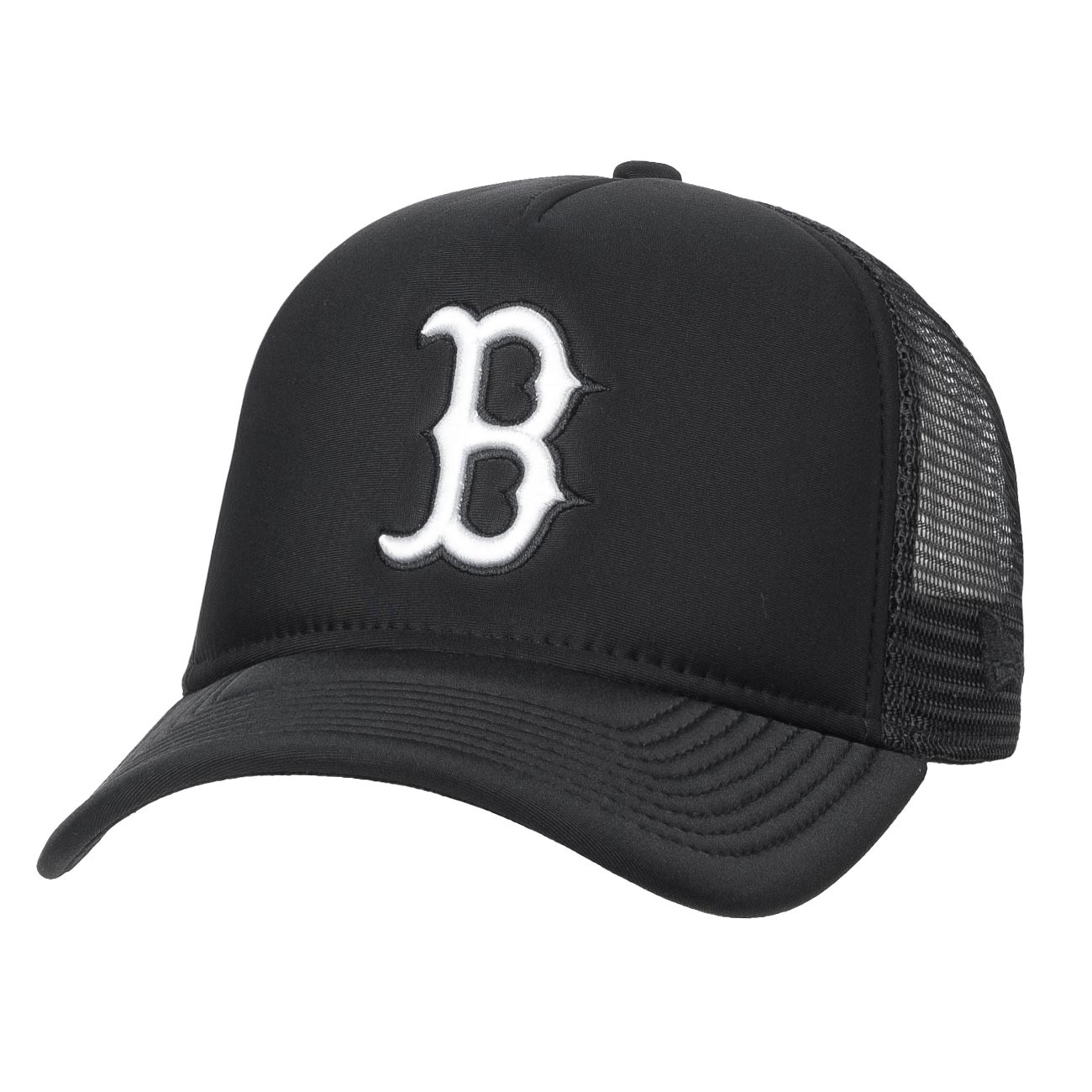 Kšiltovka New Era Boston Red Sox Aframe Trucker black optic white ... fdabae3705