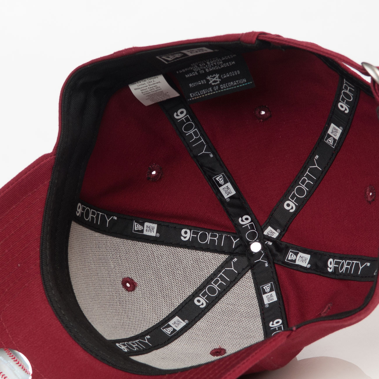 new product 62a06 27b79 coupon code for cle logo fitted cap wine f2621 7b0fd  sweden cap new era  los angeles dodgers 9forty essnt 01172 b4440